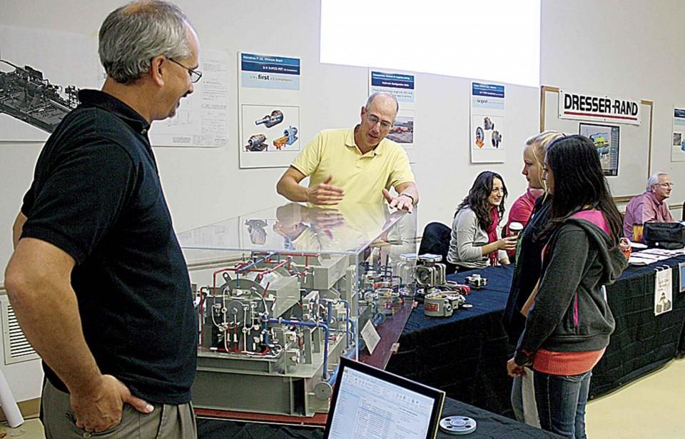 Dresser Rand Holds Career Fair For Local Students Friday