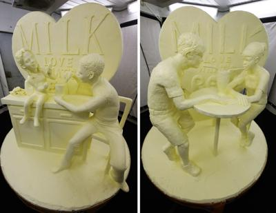NY State Fair butter sculpture to be recycled