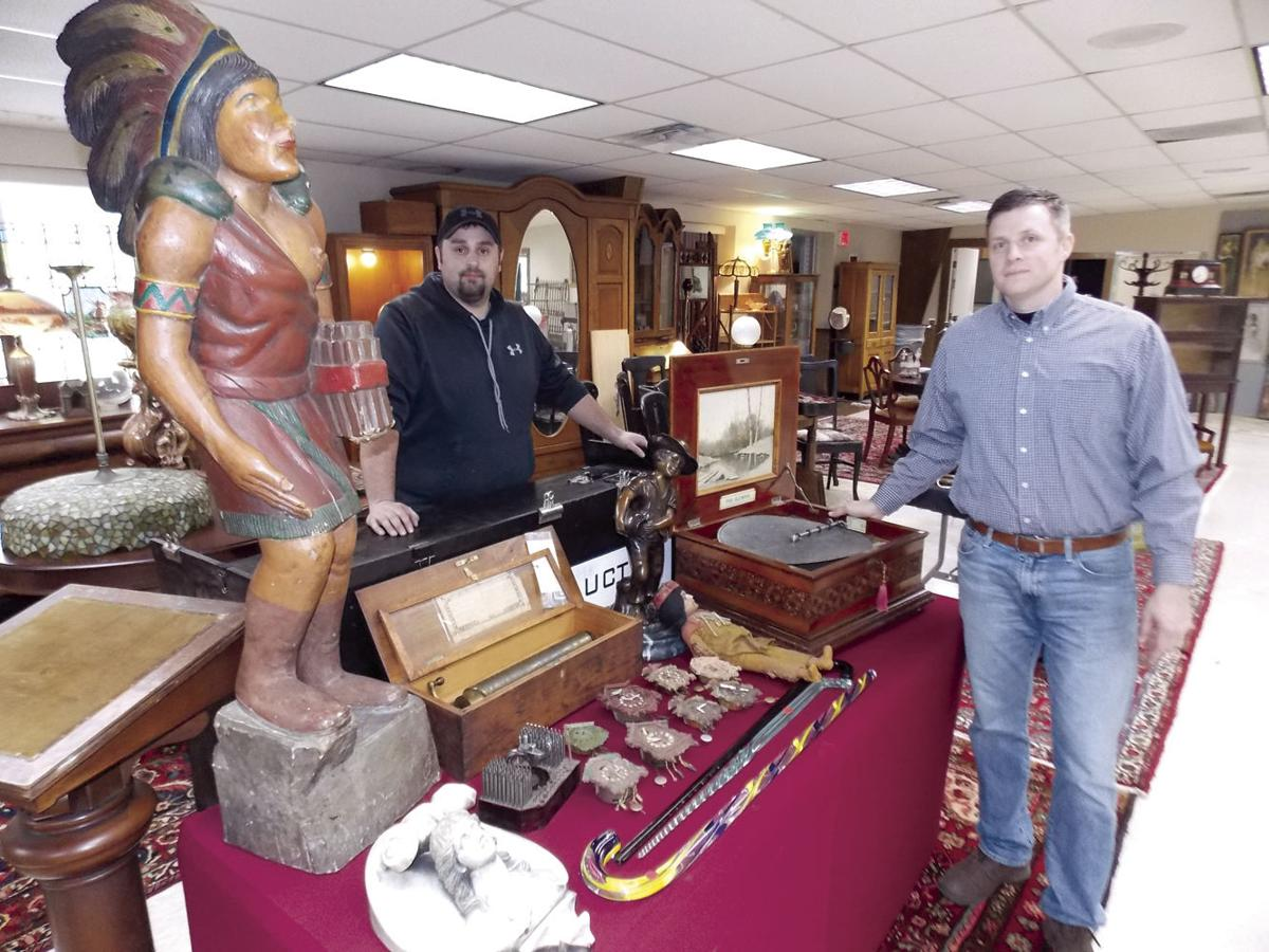 Alleg antique auction - Unique Items Up For Grabs During Quality Antiques Auction Today In