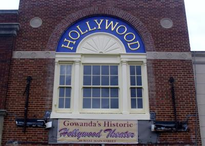 Facade facelift finished at Gowanda's Historic Hollywood Theate