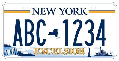 New York's new license plate