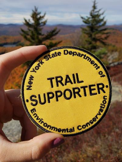 Trail Supporter patch