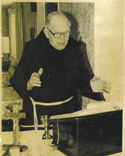 The Rev. Maurice Scheier is seen in an Olean Times Herald photo from approximately 1987. Scheier, who died in 1991, was included in a 2004 Archdiocese of Los Angeles report on clergy sexual abuse.