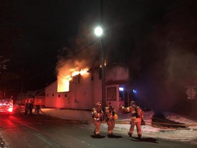 Buffalo Street fire
