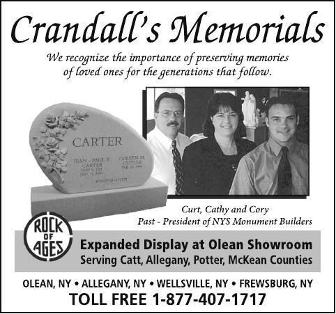 Crandall's Memorials