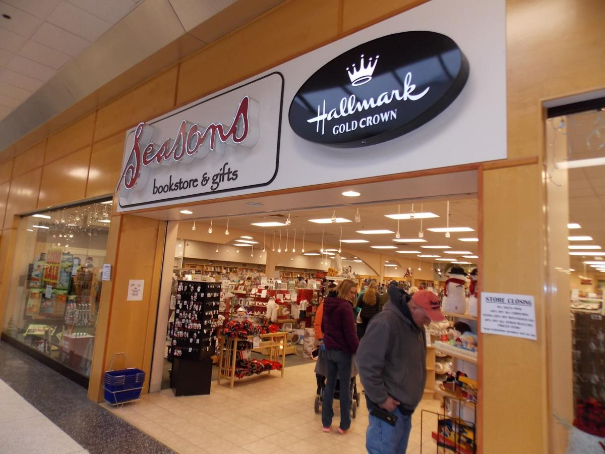 Longtime Olean Center Mall Landmark Store Seasons Bookstore Gifts