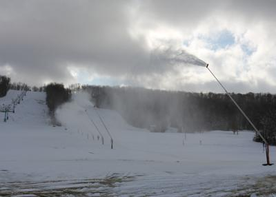 Holiday Valley cranks up snow-making guns with cold snap