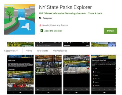 State parks app