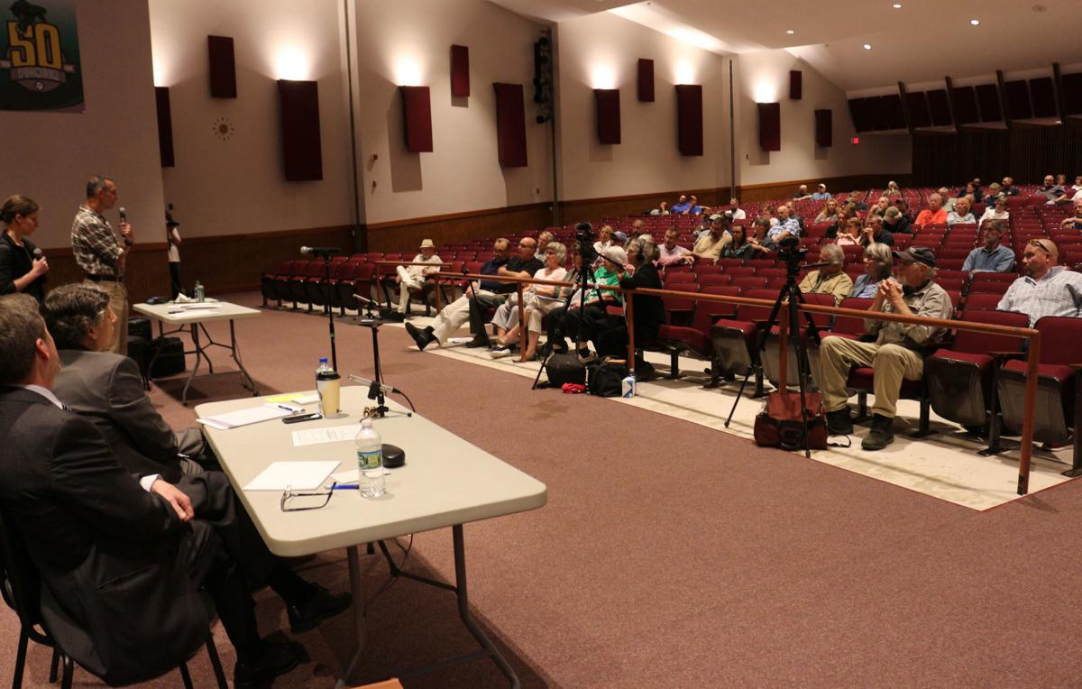 Alle Catt Wind Farm opponents dominate public hearing at Pioneer on Tuesday