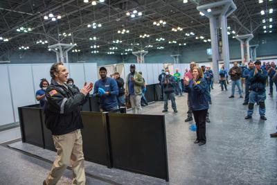 Cuomo lauds workers