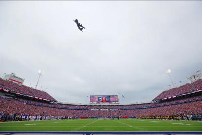 Bills flyover