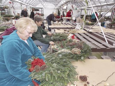 Annual wreath sale benefits Pfeiffer
