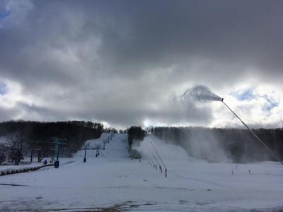 It's snow time at Holiday Valley