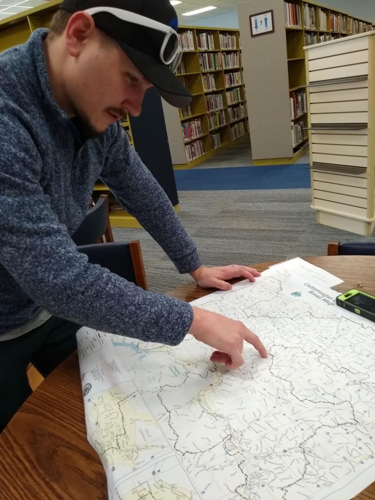Bradley Poole map