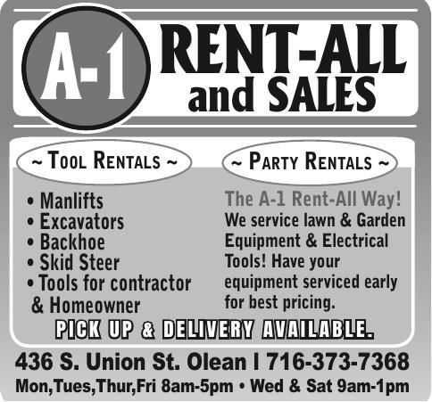 A-1 Rent-All and Sales