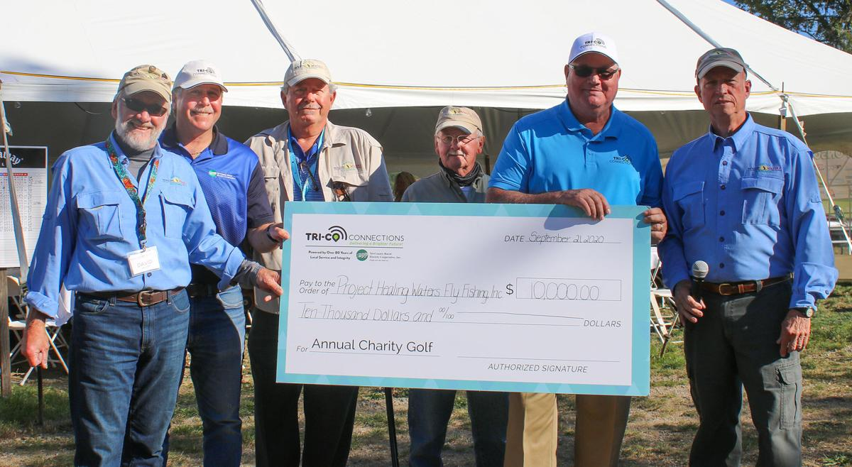 Donation for fly fishing program
