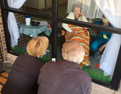 Families say 14-day wait to visit loved ones at nursing homes is too long
