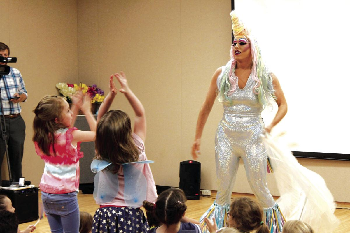 Drag Queen Kids Party brings wave of support to Olean library | News ...