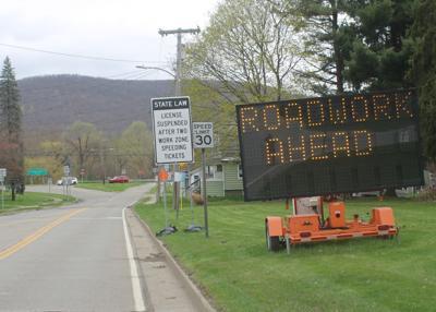 State road work to begin Monday in Salamanca