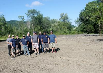 Salamanca firefighters building new picnic grounds for rent in city