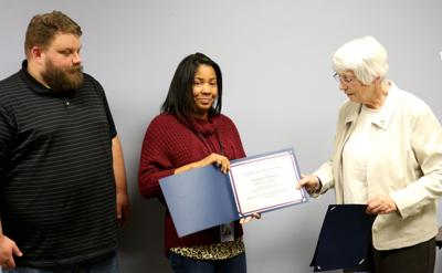 County Adult Protective Services caseworkers recognized by state
