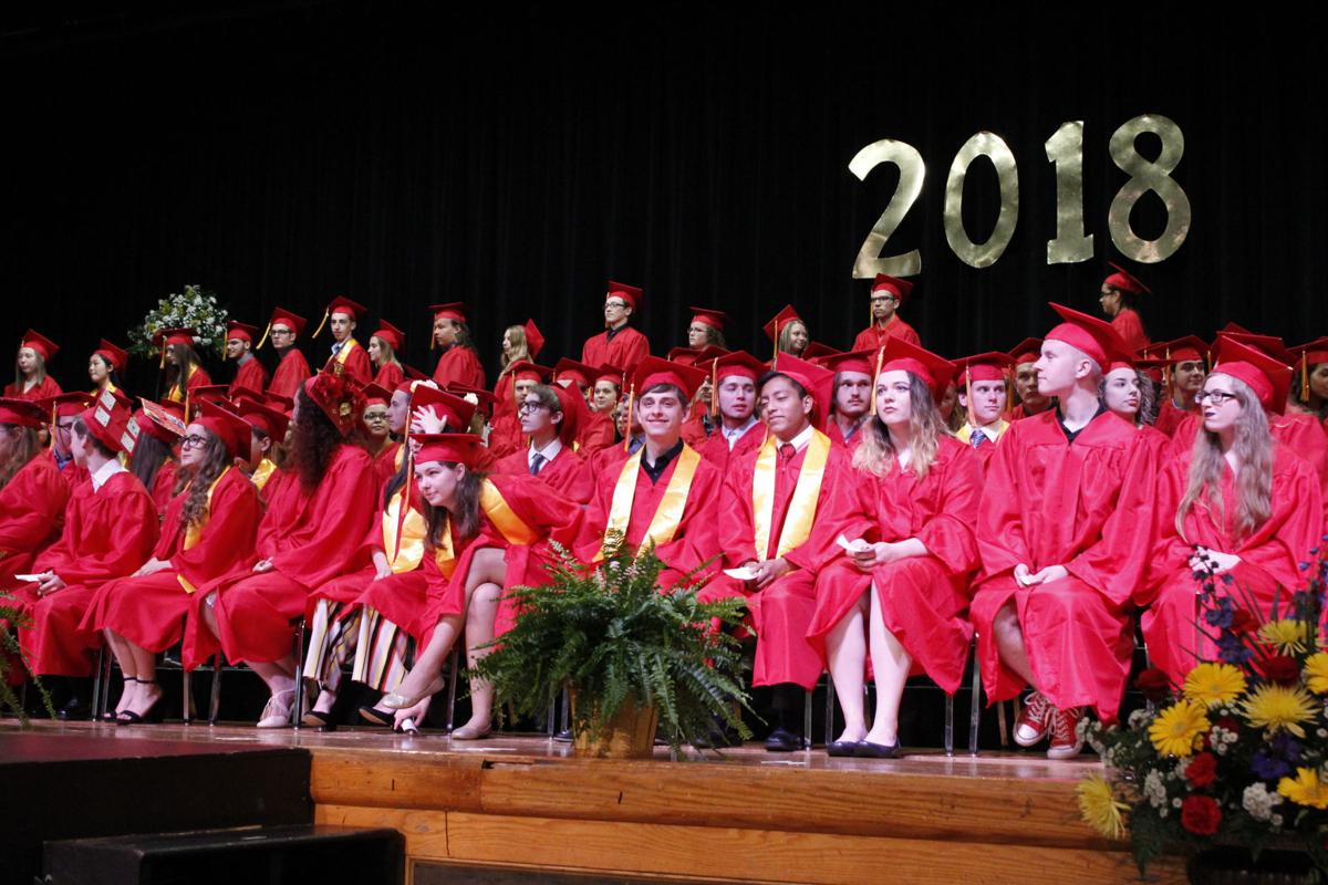 Members of the Olean High School Class of 2018