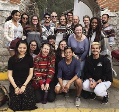 Interns in Ecuador