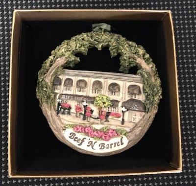 Beef 'N' Barrel ornament
