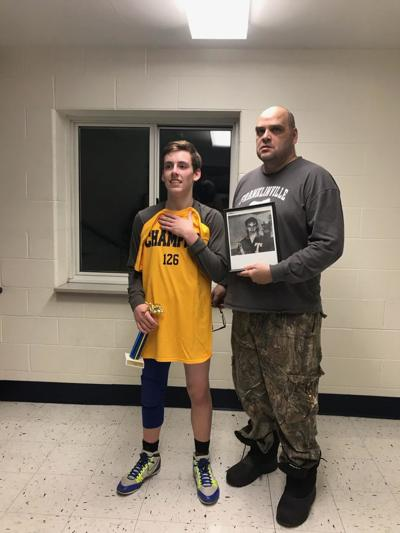 Palmatier continues family wrestling history