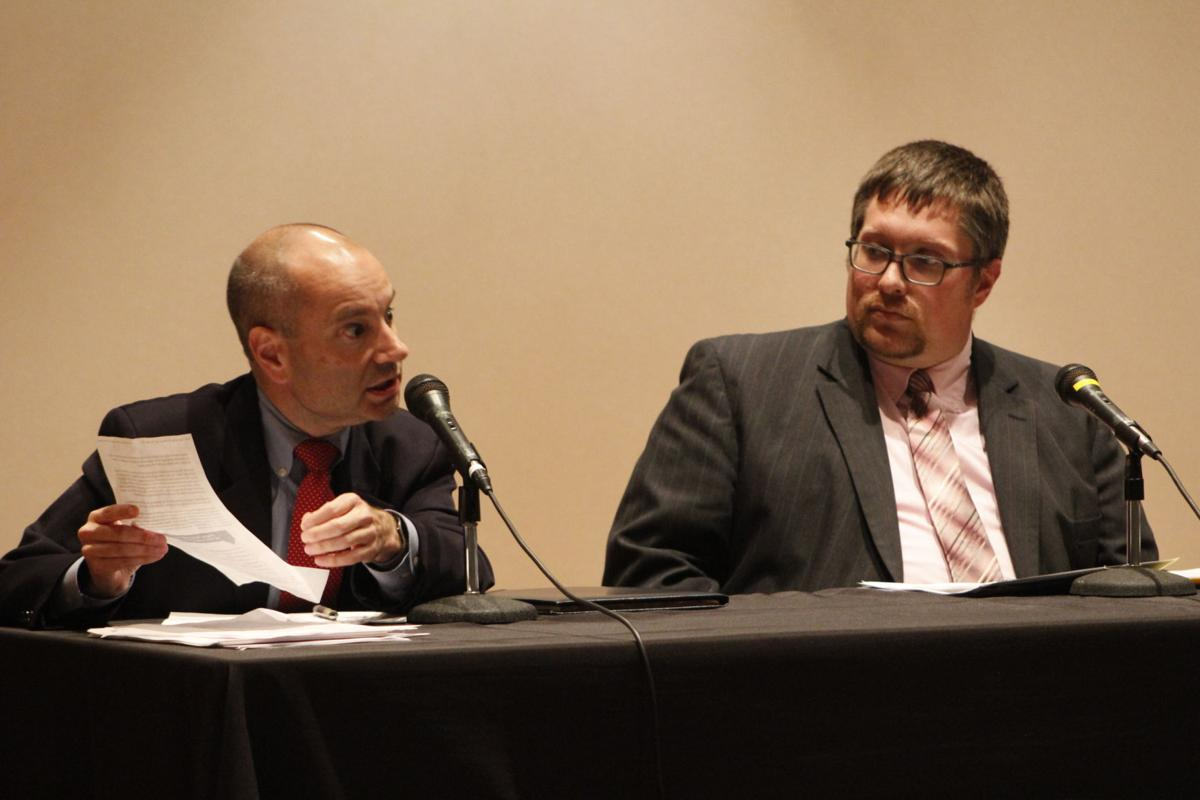 Panelists Chris Bopst and Eric Talbot