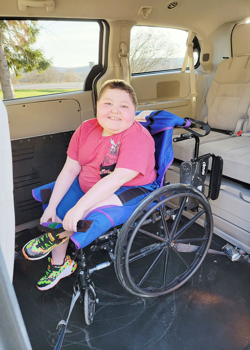West Herr donates wheelchair accessible van to Great Valley family