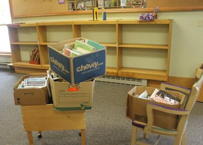 Little Valley library removing books Saturday after closure due to flooding