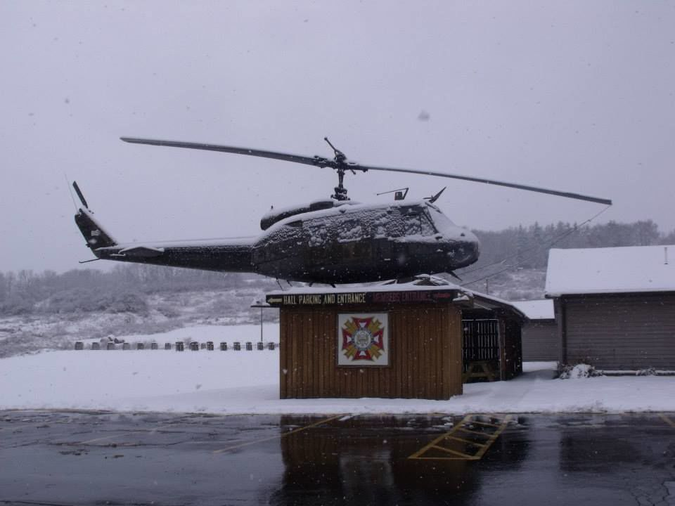 Cuba VFW helicopter