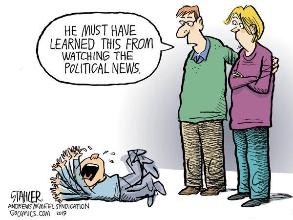 Political Tantrum