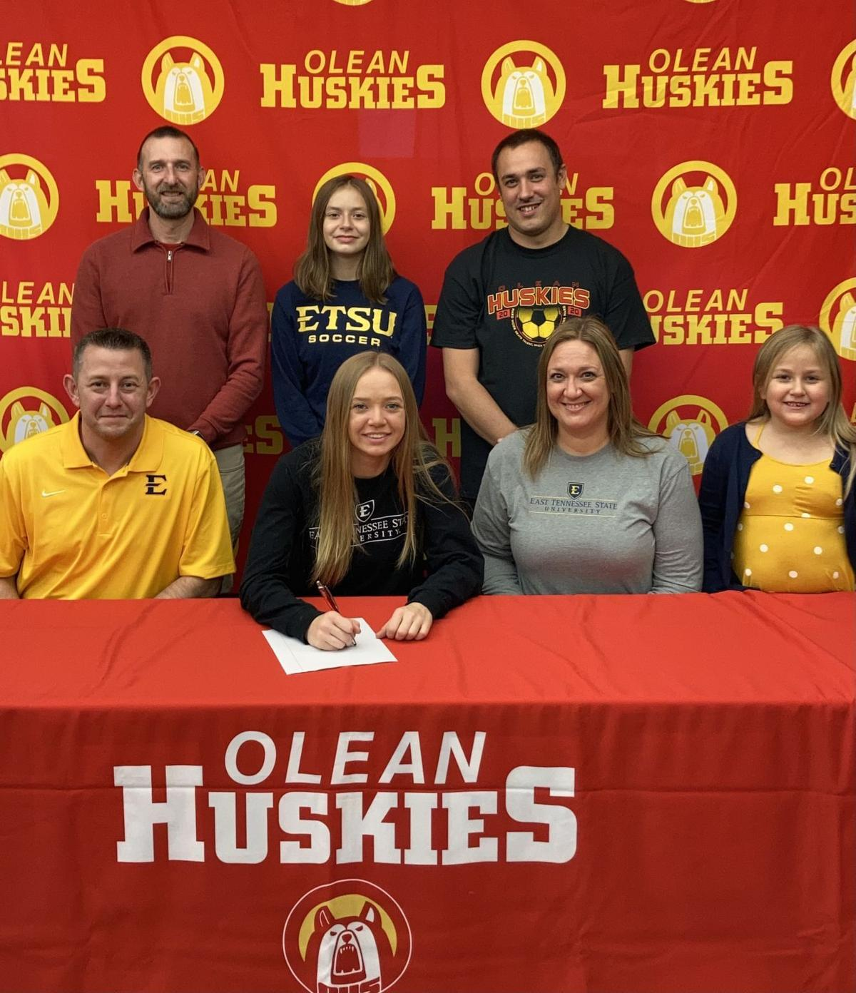 Olean's Gibbons signs with D-I East Tennessee State