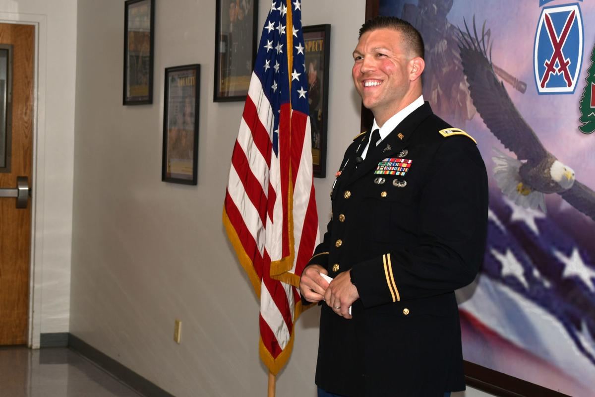 Maj  Patrick Miller promoted to lieutenant colonel | Olean