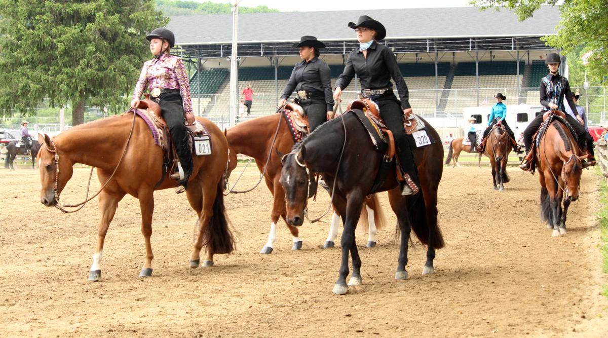 Second Battle Series Horse Show held at Little Valley Fairgrounds