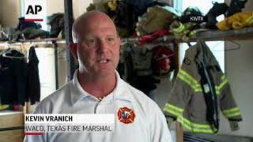 Waco Firefighters Combat Record Heat
