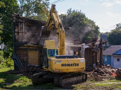 House demolition at 306 N. 11th St. in Olean
