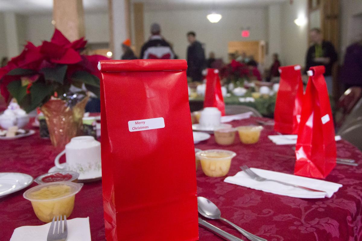 Basilica of St. Mary's of the Angel's Christmas Dinner