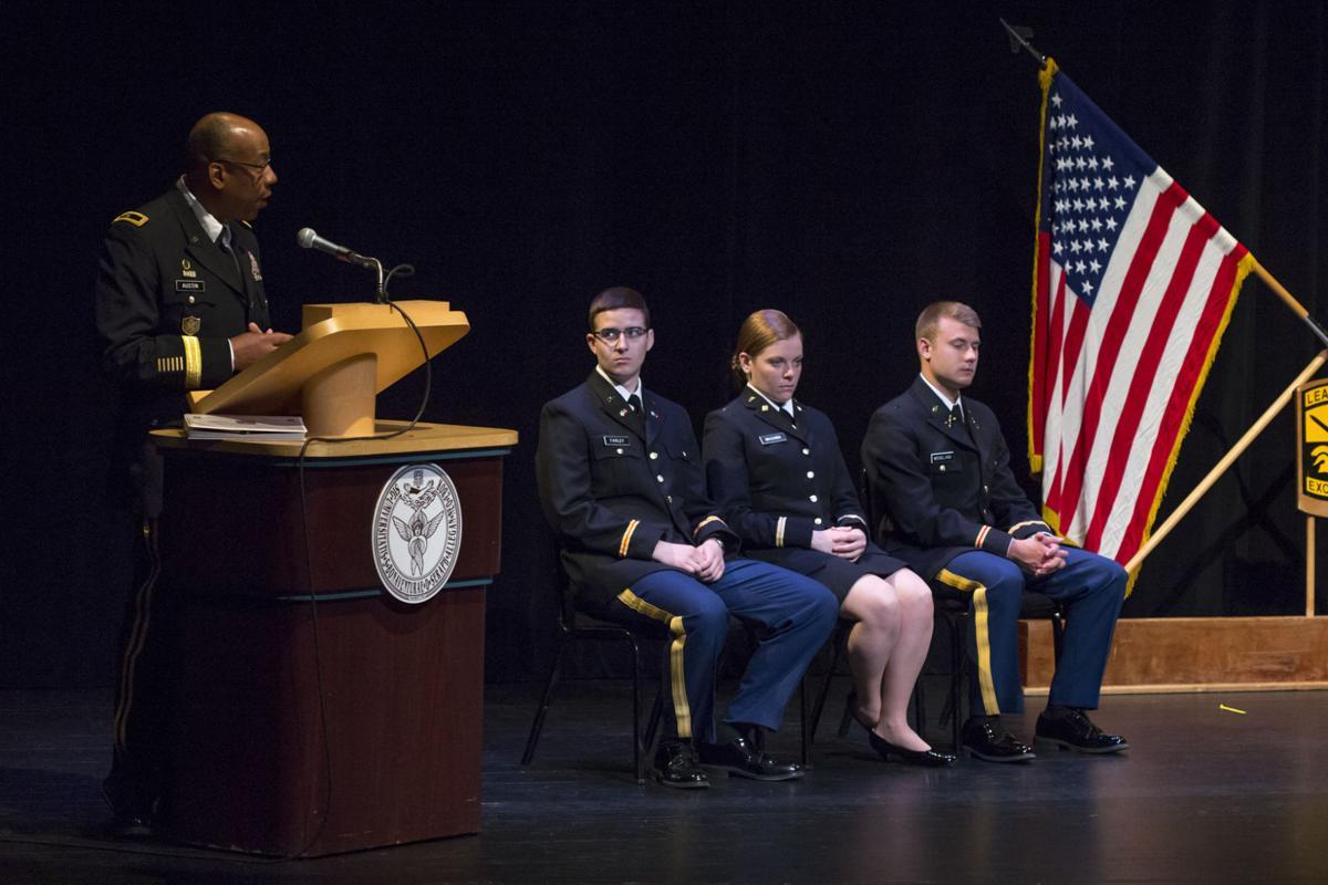 St. Bonaventure ROTC Commissioning 2019