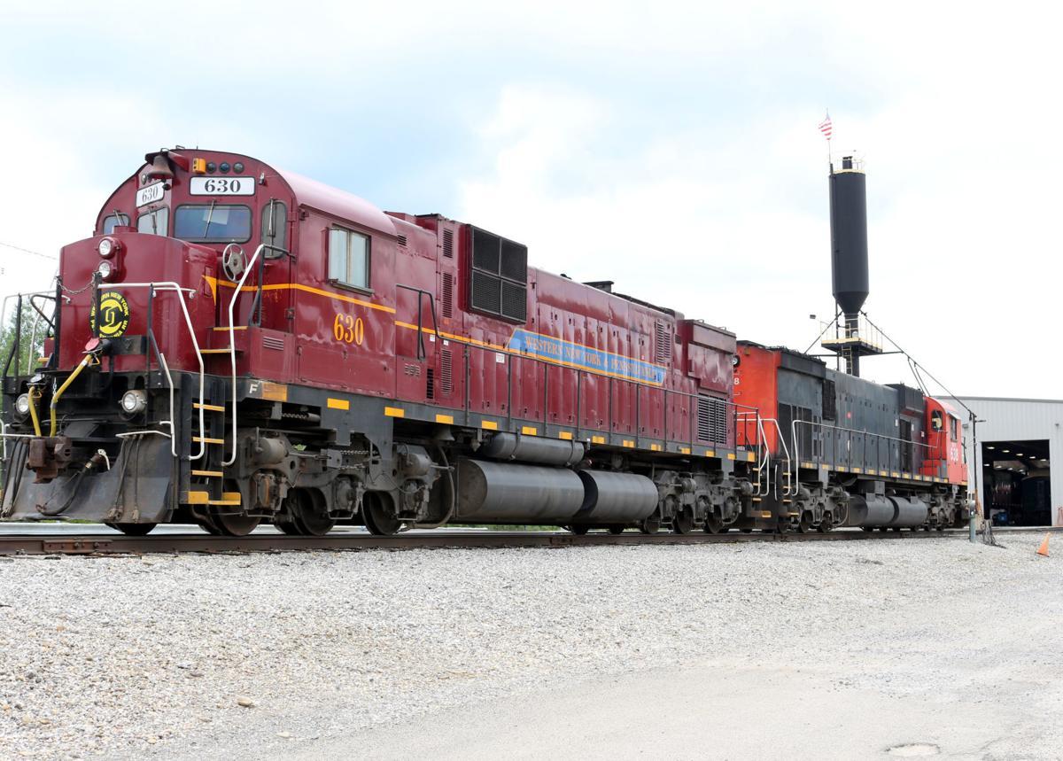 ALCO locomotives draw rail fans