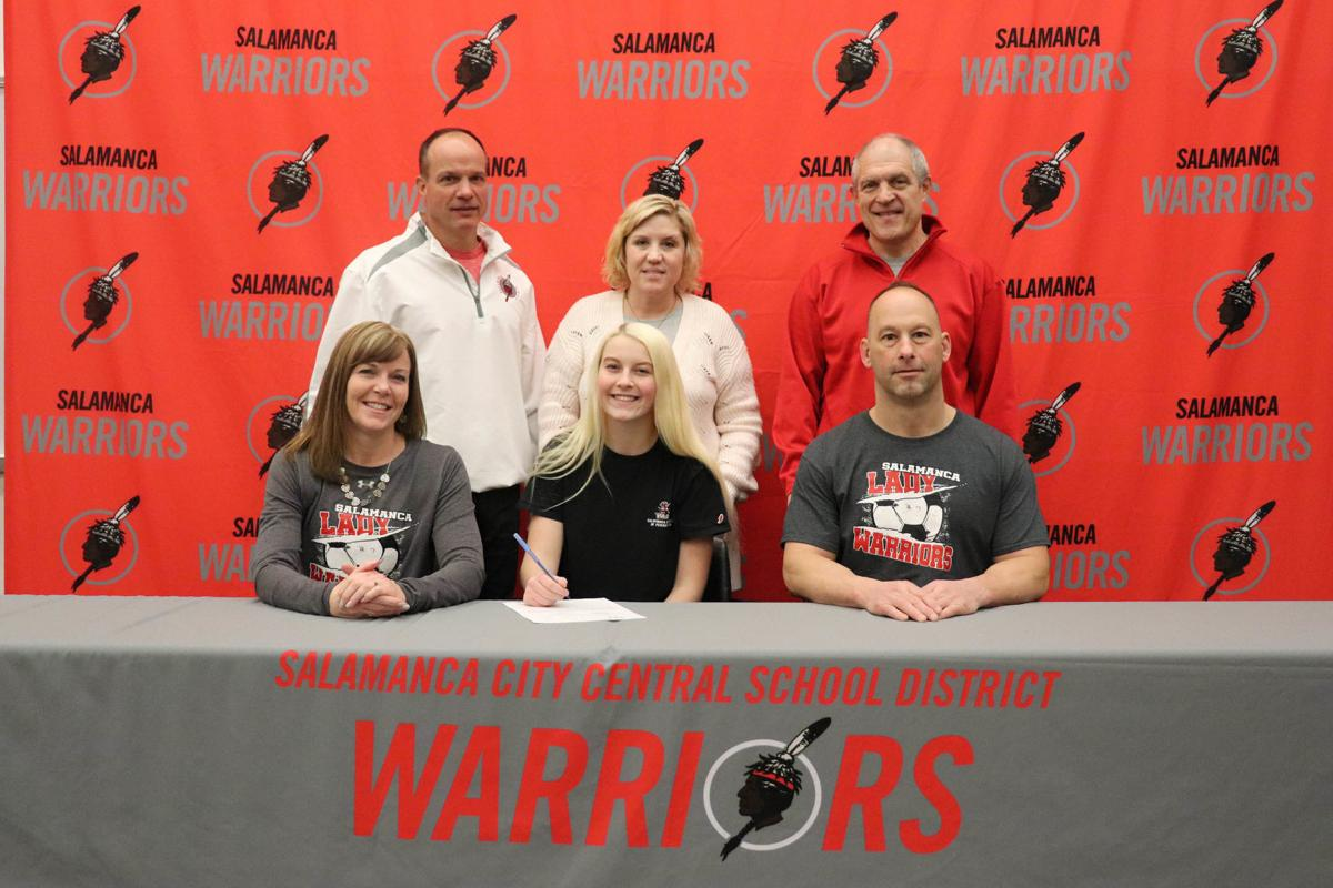 Salamanca's Hill signs letter for Cal U
