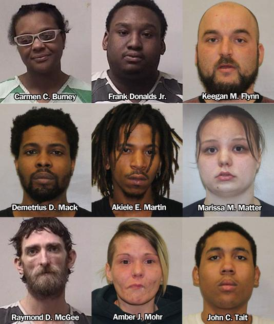 10 arrested as police raid Olean homes, seize cocaine and
