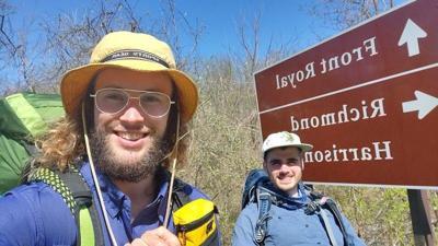 Where's Steven Bressan? Turtlepoint native hiking Appalachian Trail