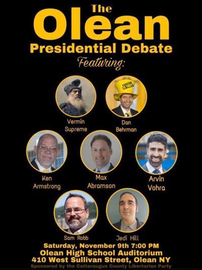 Olean Libertarian presidential debate