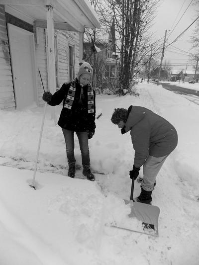 Volunteer Shovelers