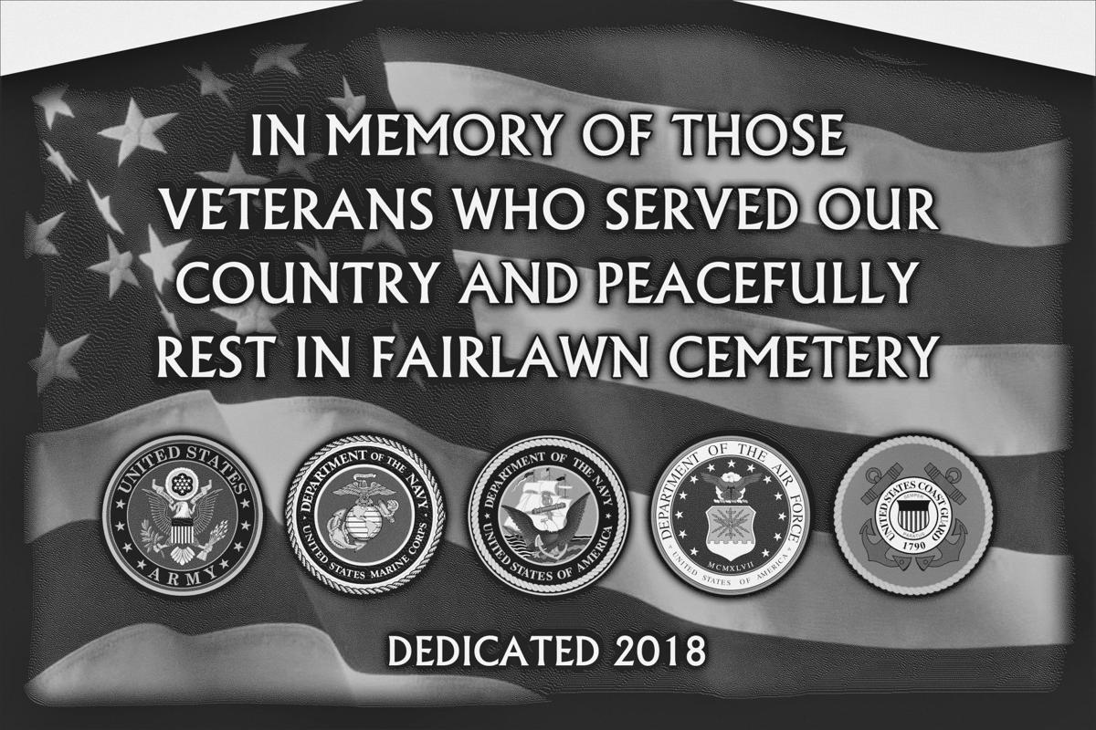 The newly constructed Scio Veterans Memorial at Fairlawn Cemetery will be dedicated at 11 a.m. Monday, when Veterans Day will be observed as the national holiday.