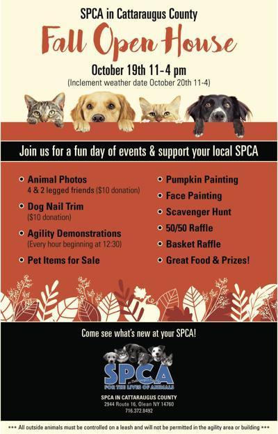 SPCA Fall Open House