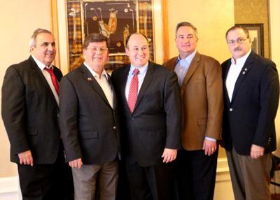 New York GOP Chairman Langworthy visits Olean, Republican leaders
